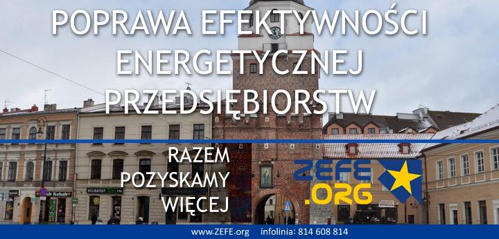 dotacje na energooszczedność przedsiebiorstw Województwo Lubelskie RPO WL
